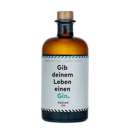"""GIN """"Gib deinem Leben einen Gin"""" 50 cl."""