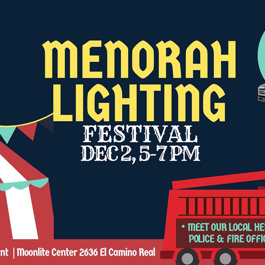 FREE City Wide Menorah Lighting