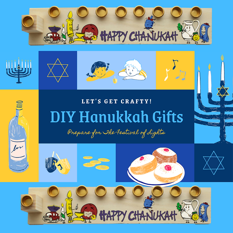 DIY Hanukkah Craft Gift