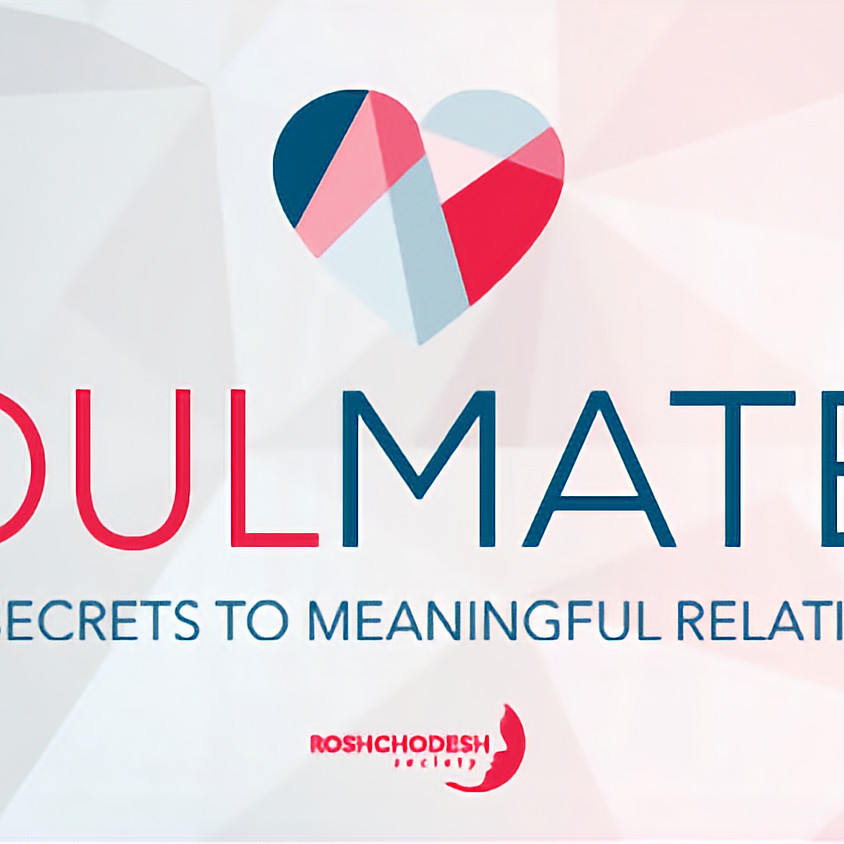 Womens Study Group: Soulmates - Jewish Secrets to Meaningful Relationships
