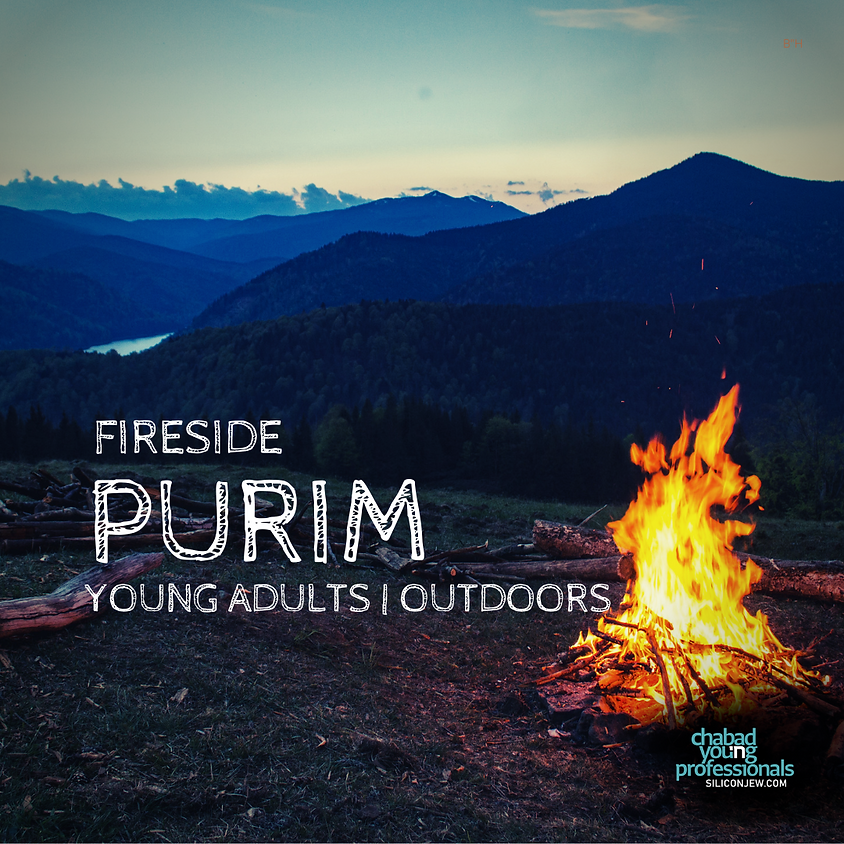 Fireside Purim   Young Adults Outdoors
