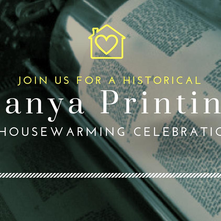 Tanya Printing & Housewarming Celebration
