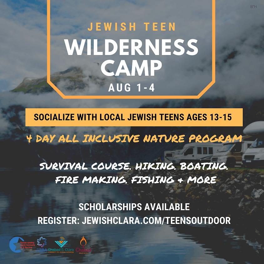 Jewish Teen Wilderness Camp