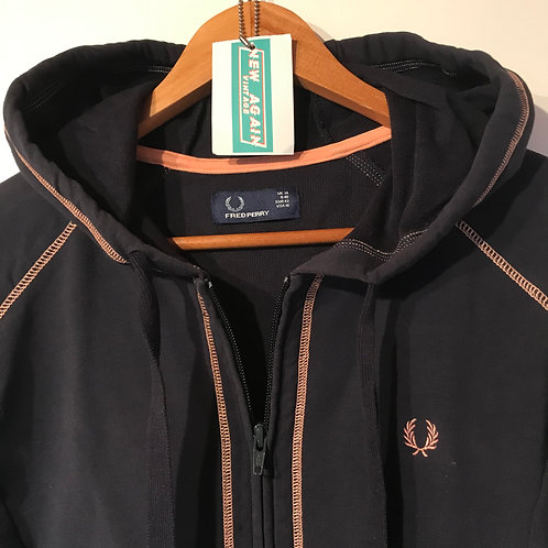 Womens Fred Perry Hoodie - Size 14