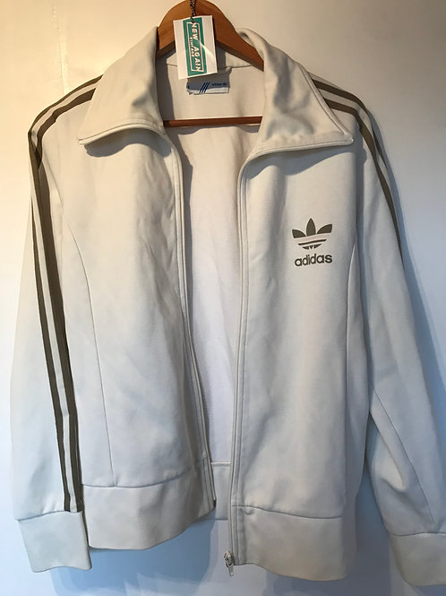 Womens Adidas Cream Jacket - Medium