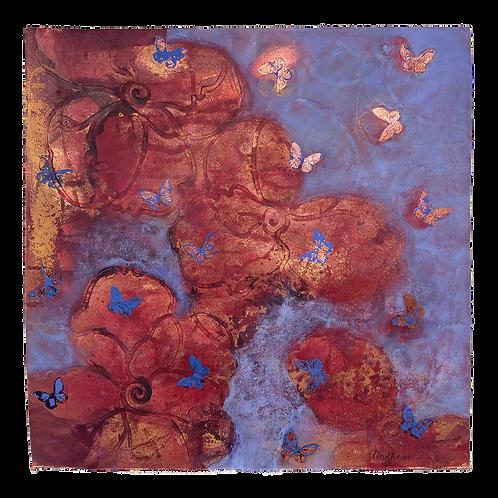 Livslinjer (blå) - Trine Lindheim
