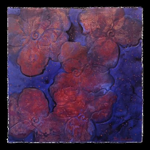 Livslinjer (mørk blå) - Trine Lindheim