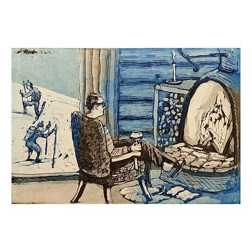 Han som ble igjen på hytta - Kristian Finborud