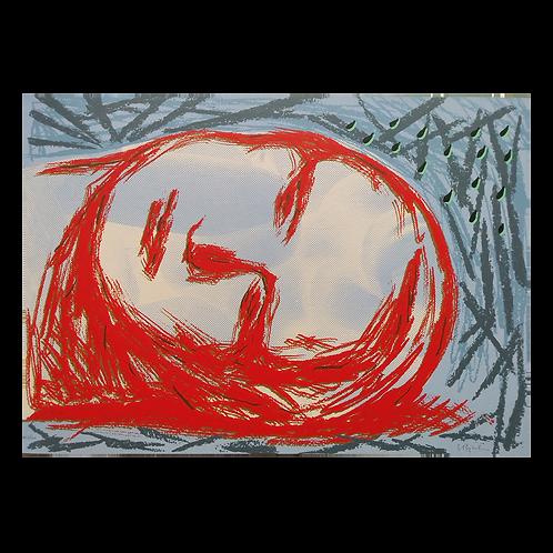 Hvilende hode I - Sverre Koren Bjertnæs