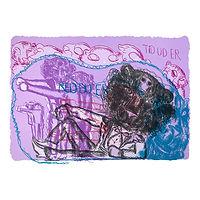 Pink Panther (lilla/blå) - Bjarne Melgaard