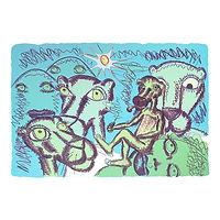 Pink Panther (blå/grønn) - Bjarne Melgaard