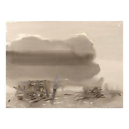 Blått grått rom - Morten Paulsen