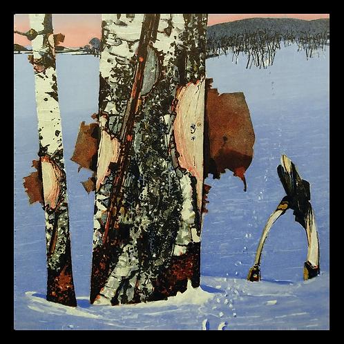Blå vinter - Rolf Nerli