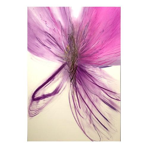 Lilla blomst - Runi Langum