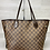 Thumbnail: Louis Vuitton Neverfull MM Damier Ebene - DOL2201