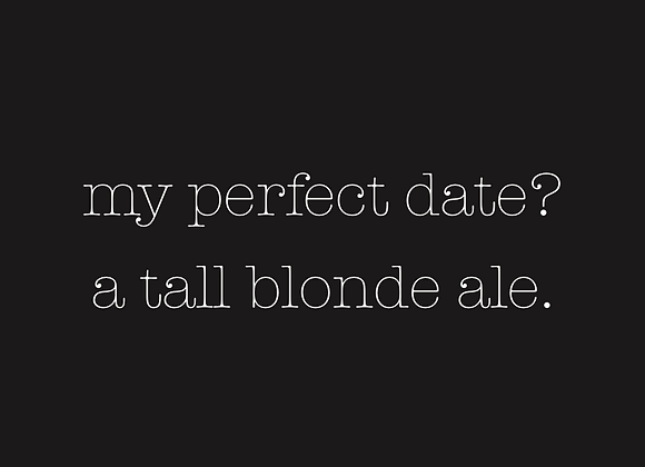 TALL BLONDE ALES