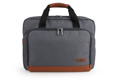 """Miracase LEIFREE Collection-15.6"""" Laptop Toploaded bag (NH-8037) grey"""