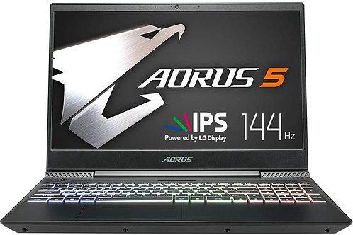 "Gigabyte AORUS 5 Gaming Notebook 15.6"" 144Hz FHD, Intel Core i7-9750H GTX 1650"