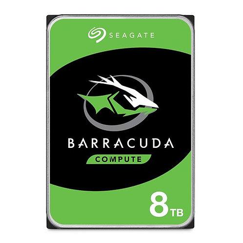 "Seagate BarraCuda 8TB 256MB Cache 3.5"" Internal Desktop HDD SATA 6Gb/s"