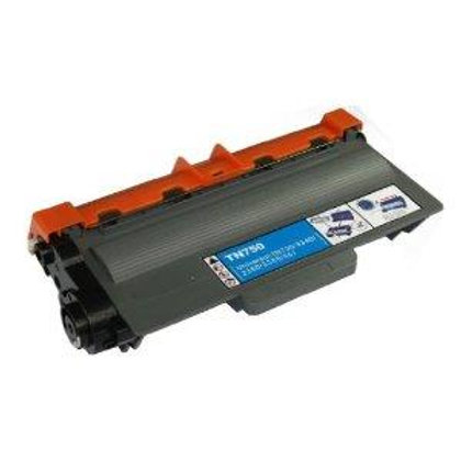 Brother TN750 Compatible Black Toner Cartridge High Yield