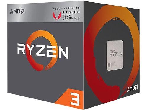 AMD RYZEN 3 2200G Quad-Core 3.5 GHz (3.7 GHz Turbo) Socket AM4