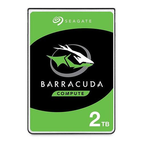 "Seagate BarraCuda 2TB SATA3 6GB/s 128MB Cache 2.5"" Notebook HDD (ST2000LM015)"