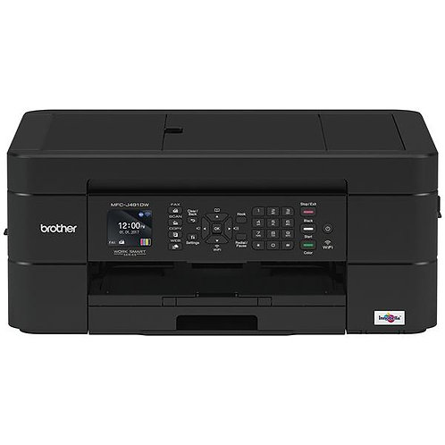 Brother MFC-J491DW Multifunction Wireless Colour Inkjet Printer