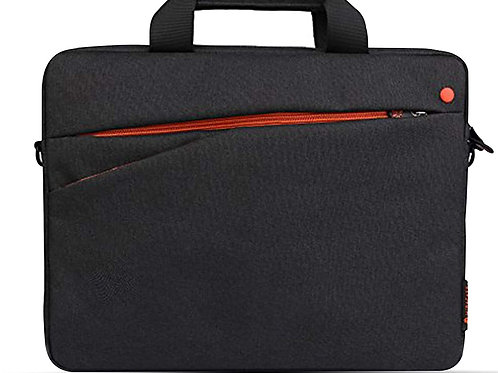 "Miracase Ambilight Toploaded Bag-15.6"" (NH-8137) black w/orange"