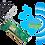 Thumbnail: TP-LINK N300 TL-WN851ND Wireless N PCI Adapter