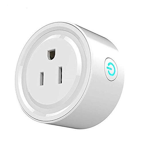 Smart Plug Mini WiFi Socket Wireless Outlet Compatible with Alexa,Google