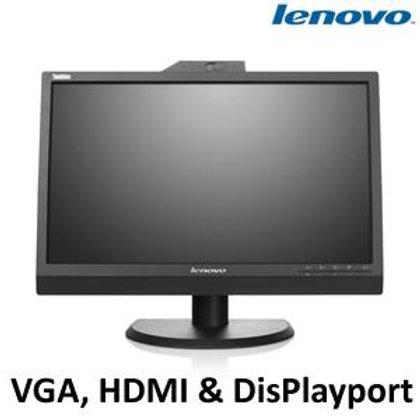 "Lenovo 22"" HDMI 1080P Backlit LCD VGA HDMI DP USB3.0 Webcam Speaker (Model: LT22"