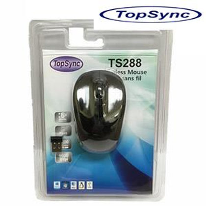 TopSync TS288 Wireless Mouse, Nano Receiver