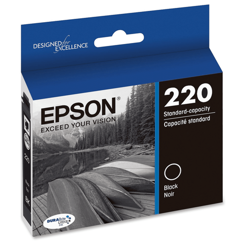 Epson 220 Black Ink Cartridge (T220120-S)
