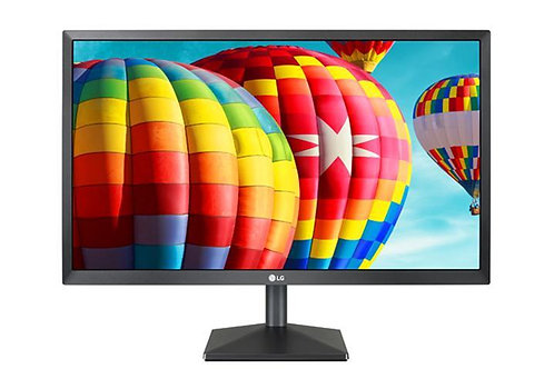 "LG 27BK430H-B 27"" Black IPS Monitor FreeSync 75Hz 5MS HDMI VGA, 1920 x 1080"