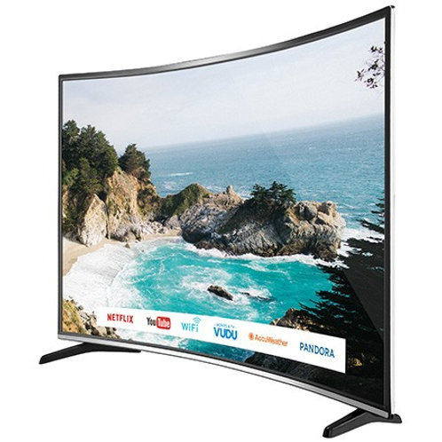 Bolva 65 inch 4K UHD HDR LED Curved Smart TV