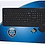 Thumbnail: TopSync Wireless Keyboard & Mouse Combo, black color, retail package