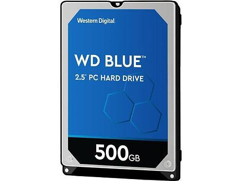 2.5'' Western Digital Internal Hard Drive - 500GB 7mm, WD5000LPCX