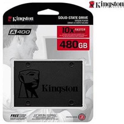 """Kingston A400 2.5"""" 480GB SATA III TLC Internal Solid State Drive (SSD) SA400S37/"""