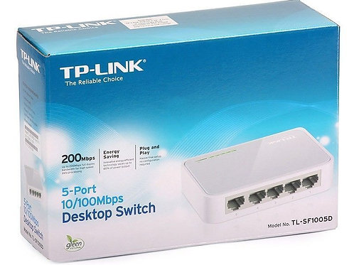 TP-LINK TL-SF1005D, 5-port Unmanaged 10/ 100M Desktop Switch