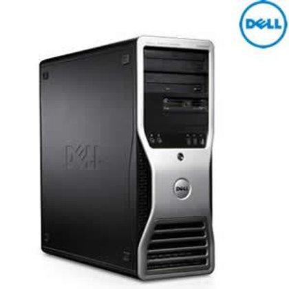 Dell T3500 Tower: QuadCore Xeon W3540/3550 2.93-3.06GHz 12G 160GB coa