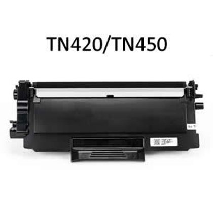 Brother TN420/TN450 Compatible Toner, 2600 page yield