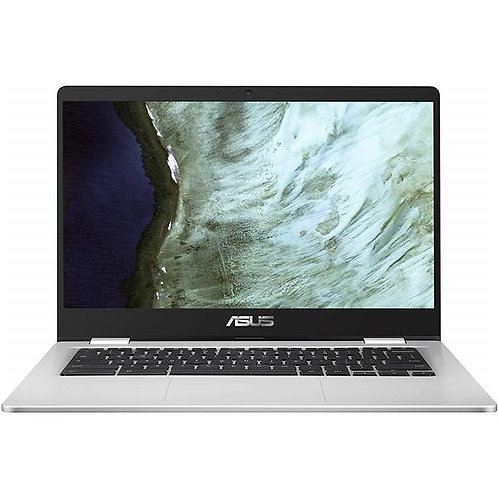 "Asus Chromebook 14"" HD NanoEdge Display, Intel Celeron N3350, 4GB RAM, 32GB EMMc"