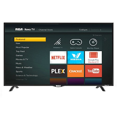 "RCA 32"" LED 720P HD Roku Smart TV"