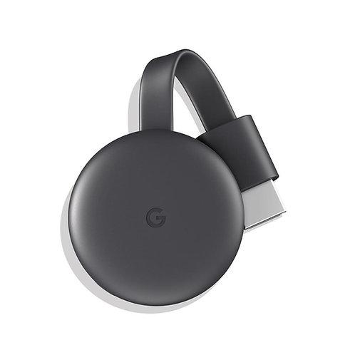 Google Chromecast Streaming Media Player (Black) - 3rd Gen