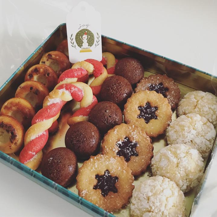 Assortiment de biscuits bio