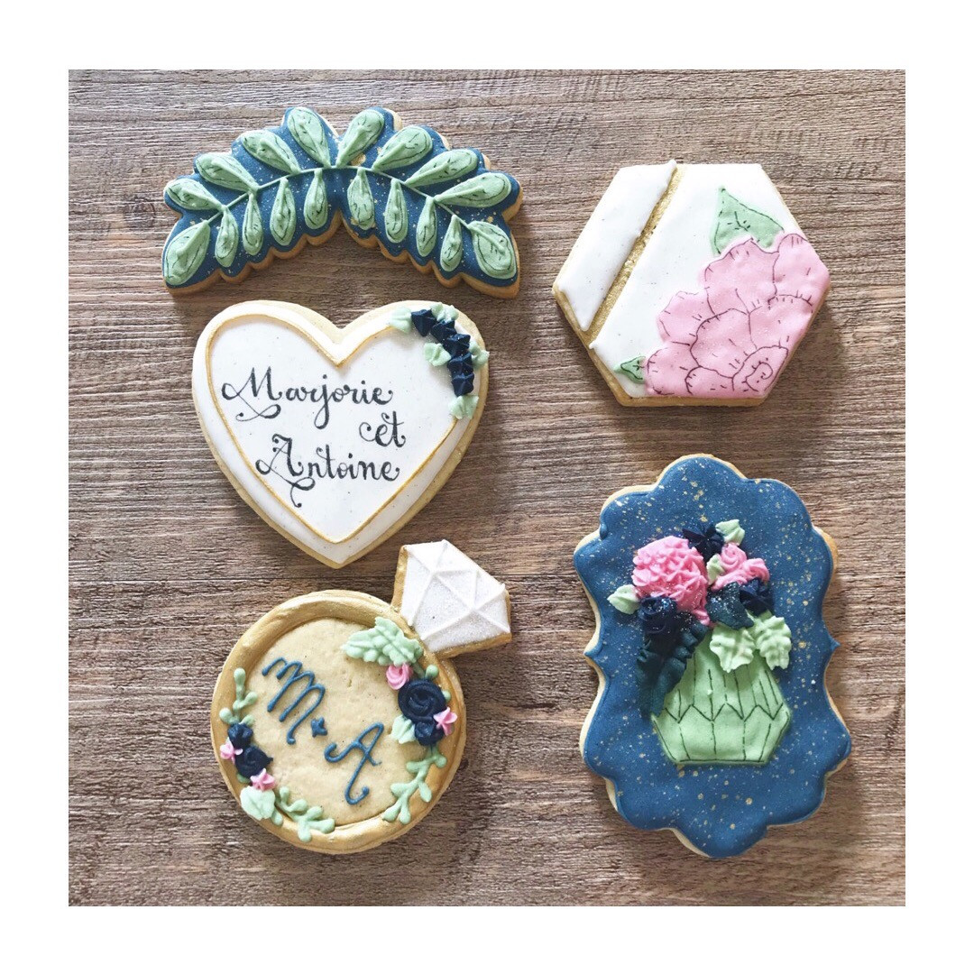 """Biscuits """"Mariage Chic"""""""
