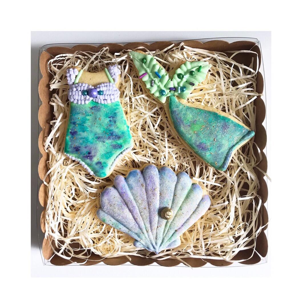 Biscuits thème Sirène