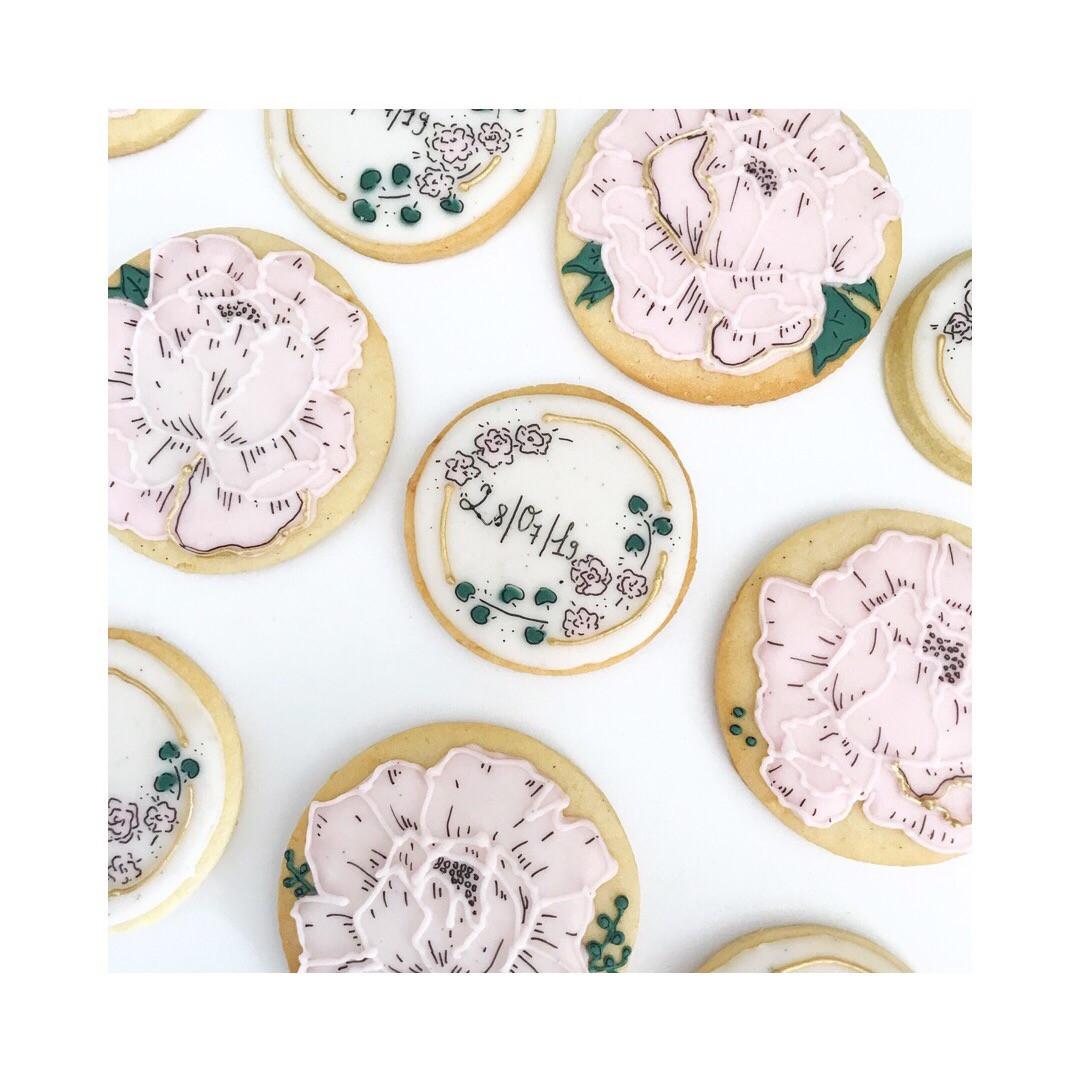 Biscuits thème Mariage Champêtre