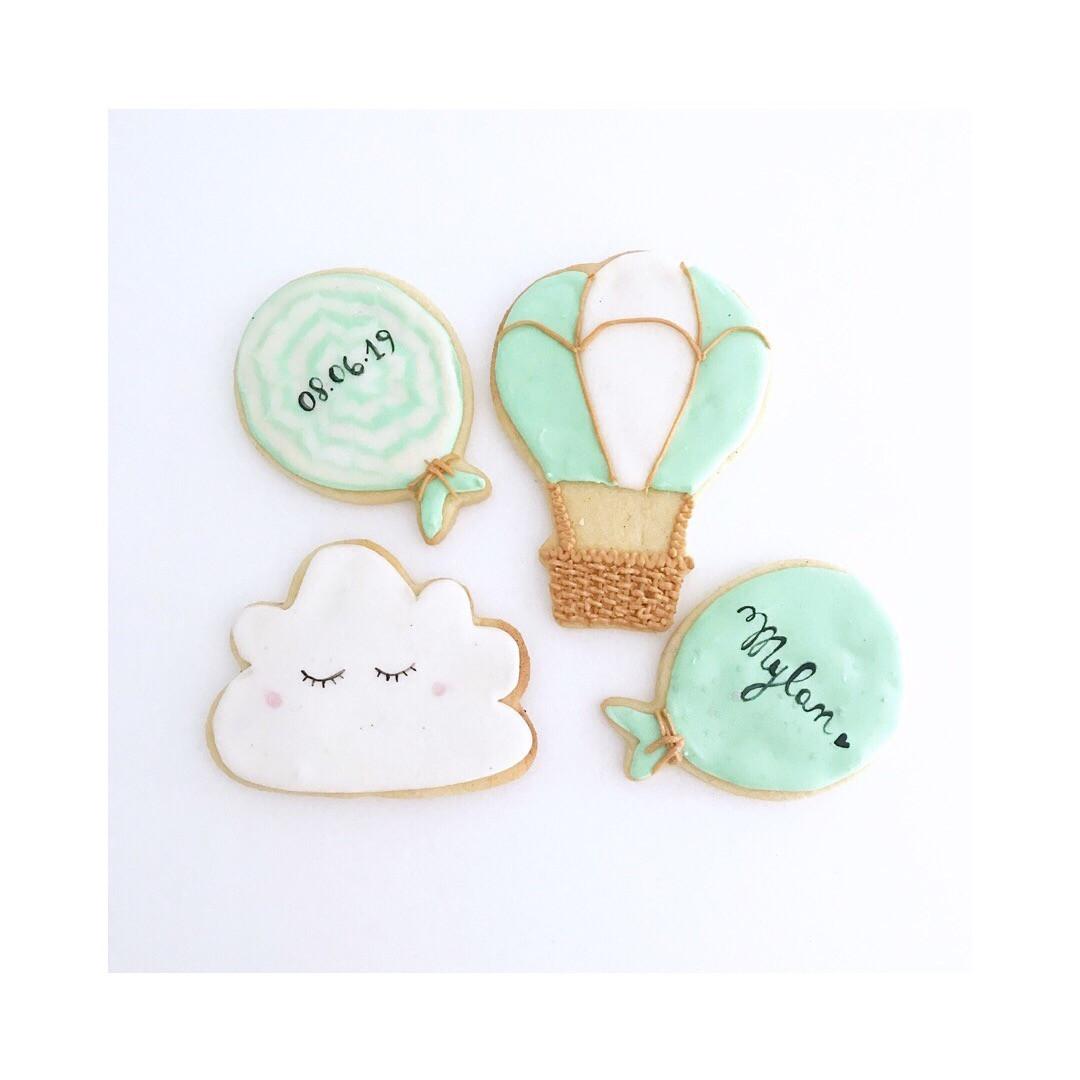 Biscuits thème Ciel