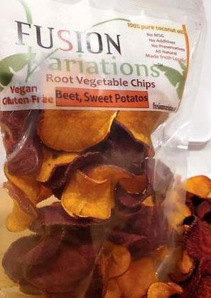 Red Beet & Sweet Potatoes